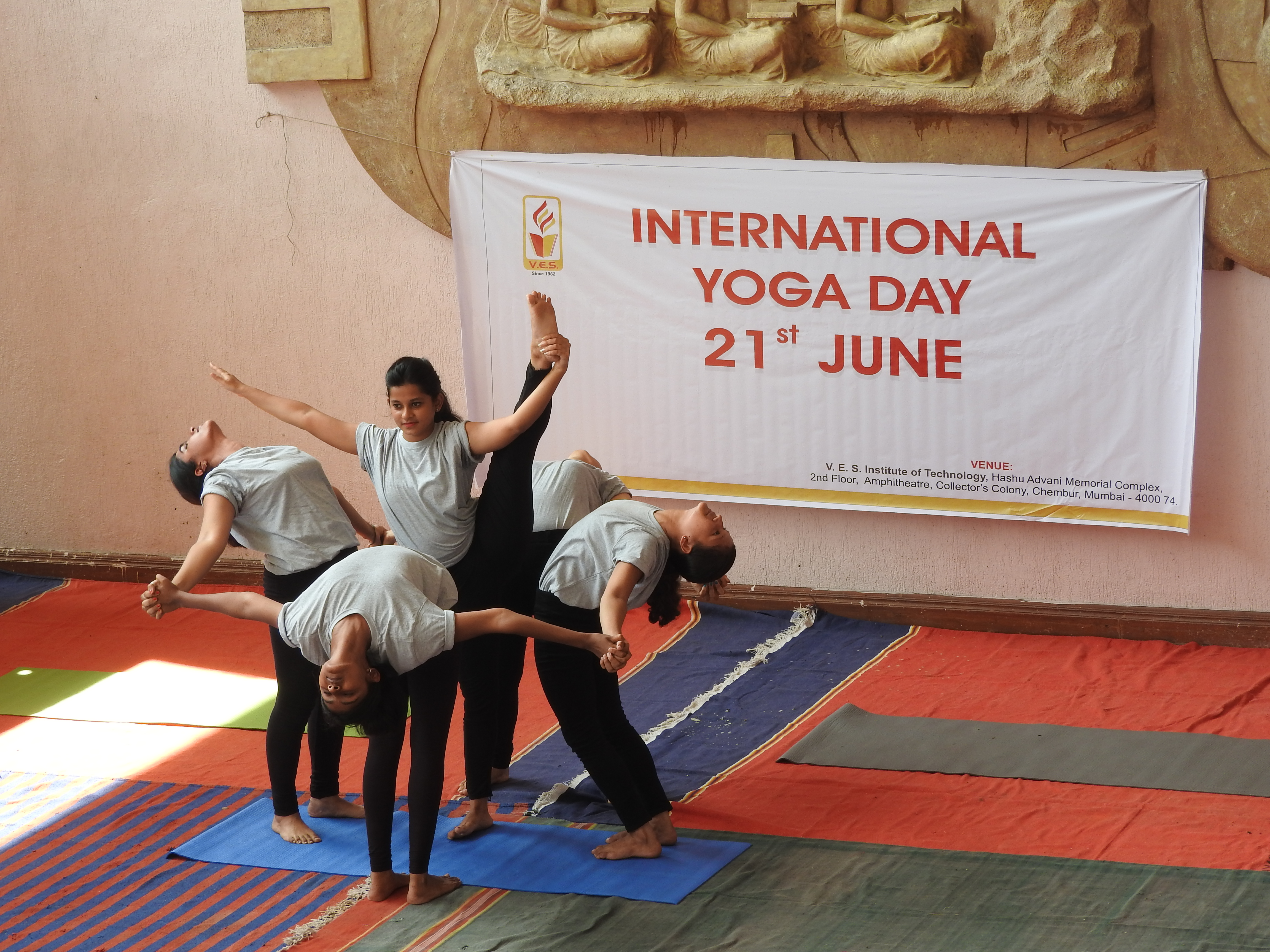 VESIT International Yoga Day